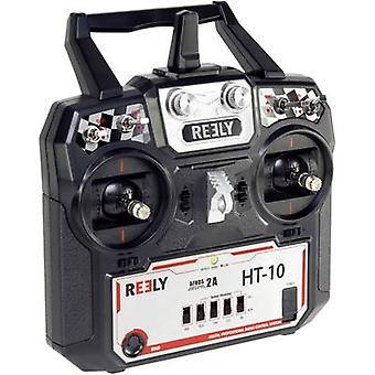 Reely HT-10 palmare RC 2,4 GHz No. di canali: 10 ricevitore incl.