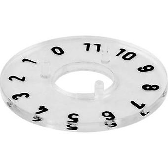Dial 0-11 360 ° Mentor 332.204 Suitable for 20 mm knobs 1 pc(s)