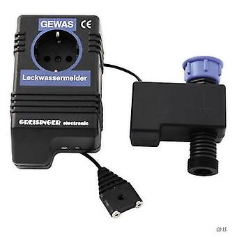 Greisinger 601910 Water leak detector incl. external sensor mains-powered