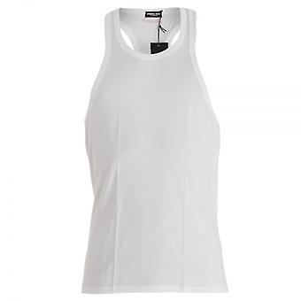 DSQUARED2 Modal Stretch Tank Top, White, X-Large