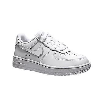 NIKE air force 1 kids leather sneaker white