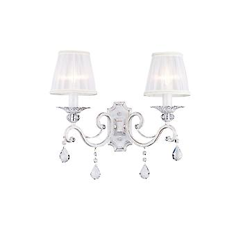 Maytoni Lighting Grace Elegant Sconce, Cream Gold