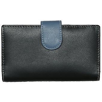 Felda RFID Ladies Wallet Purse Genuine Leather Multi Colour Soft Credit Card Gift Box