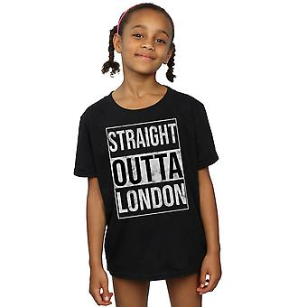 Drewbacca Girls Straight Outta London T-Shirt