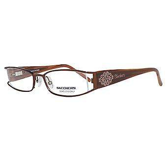 Skechers lunettes Mesdames Brown
