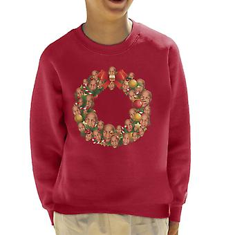 Christmas krans Multi Mike Tyson børne Sweatshirt