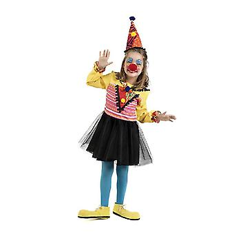 Clown hood girl costume clown jester child costume