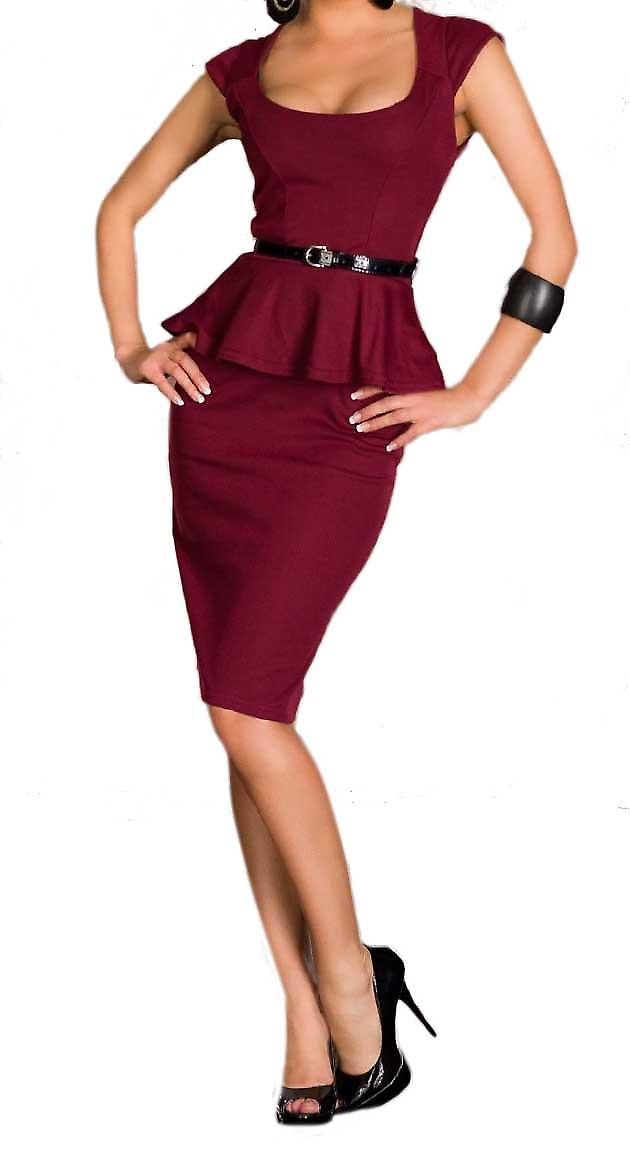 Waooh - Fashion - Dress peplum pencil