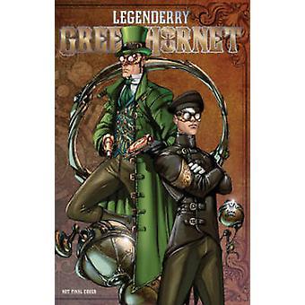 Legenderry - Green Hornet by Brent Peeples - Sergio Fernandez Davila -