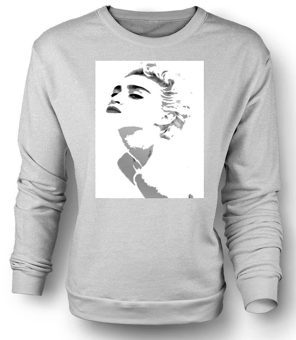 Mens Sweatshirt Madonna - Grey