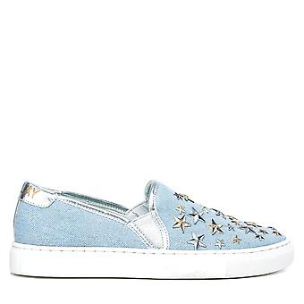 Replay kvinnor sneakers Blau