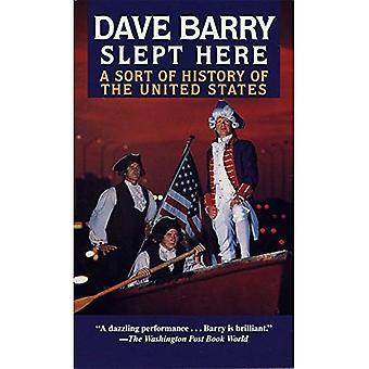 Dave Barry dormi ici: Une sorte d'histoire des États-Unis
