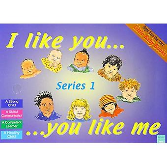 Little Baby Books Set 1: What I Really Want, Grab and Let Go, Touch It Feel It, I Like You You Like Me (Little Baby Books)