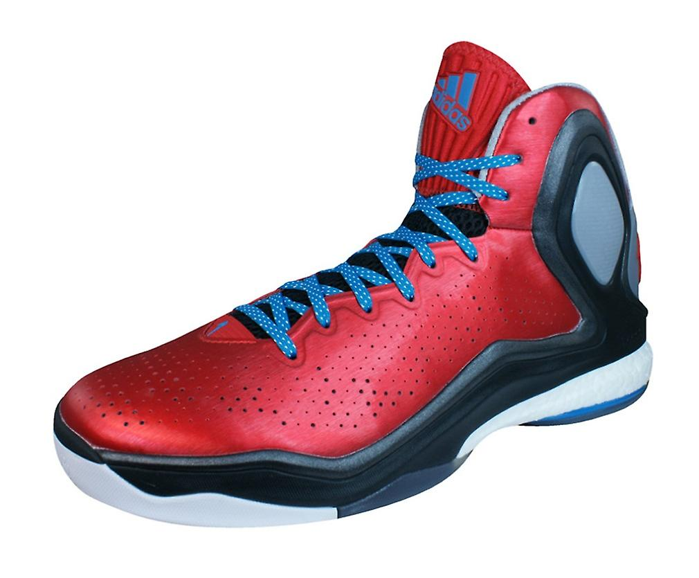 Adidas D Rose 5 Boost Mens Basketball formateurs   chaussures - rouge
