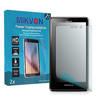 Sony Xperia LT30 Screen Protector - Mikvon Armor Screen Protector (Retail Package with accessories)