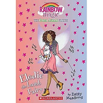 Elodie de lam-fee: een regenboog Magic boek (boerderij dieren feeën)