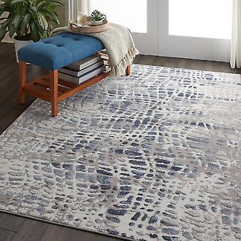 Urban Decor URD04 Ivory Grey  Rectangle Rugs Modern Rugs