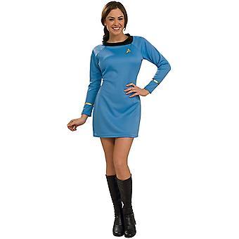 Star Trek blauw kostuum volwassen