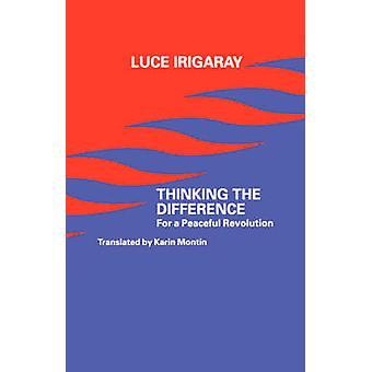 التفكير في الفرق لثورة سلمية التي Irigaray & لوس