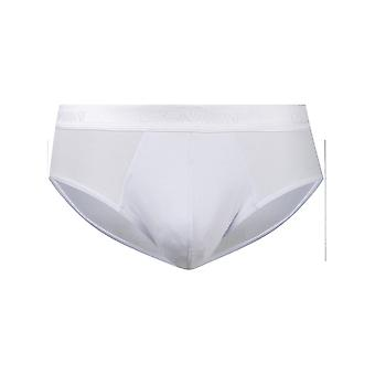 Giorgio Armani White Cotton Brief