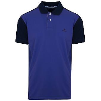 Gant GANT College blau Kontrast Polo-Shirt