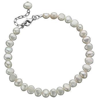 Beginnings Freshwater Pearl Single Row Bracelet - White