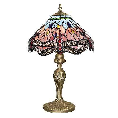 Searchlight 1287 Tiffany Traditional Tiffany Table Lamp