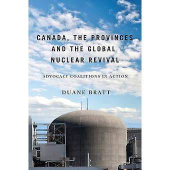 Canada-de provincies-en de Global Nuclear Revival-Advocacy COA