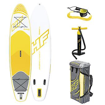 Hydro Force Cruiser Tech Inflatable SUP Stand Up Paddleboard 10ft 6in Backpack