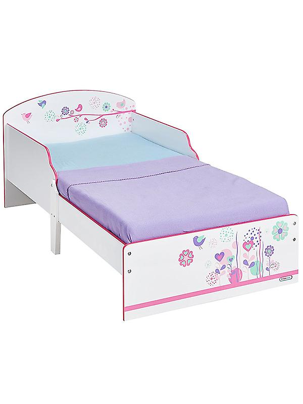 FFaibleers and Birds Toddler Bed