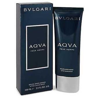 Aqua Pour Homme Por Bvlgari Después de Shave Balm 3.4 Oz (hombres) V728-465076