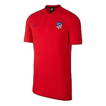 2019-2020 Atletico Madrid Authentic Polo Shirt (Rouge)