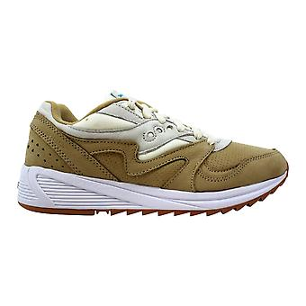 Saucony Grid 8000 Tan/Light Tan S70303-4 Uomini&apos