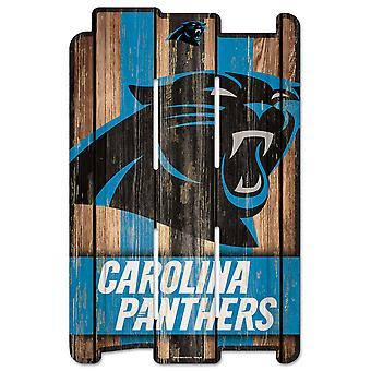 Wincraft PLANK Wood Sign Wood Sign - NFL Carolina Panthers