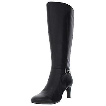Alfani Womens Perrii WC Leather Riding Knee-High Boots