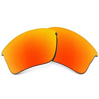 Replacement Lenses Compatible with OAKLEY Flak Jacket XLJ Polarized Red Mirror
