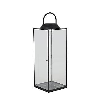 Light & Living Lantern 21x21x56,5 Cm ARVO Glass-black