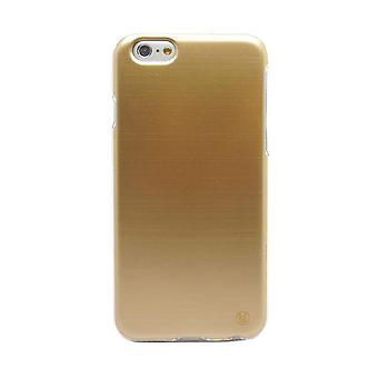 iPhone 6/6s Plus - 5.5 Inch Brushed Look TPU Case Gold