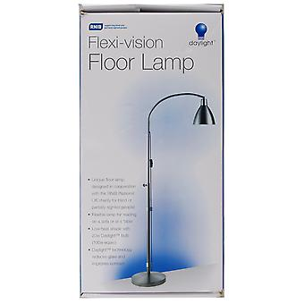 Flexi Vision Floor Lamp Silver U31067