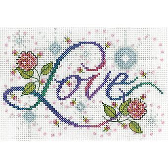 Love Counted Cross Stitch Kit-5