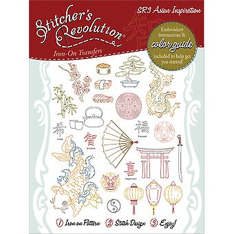 Stitcher's Revolution Iron On Transfers Asian Inspirations Sr 3