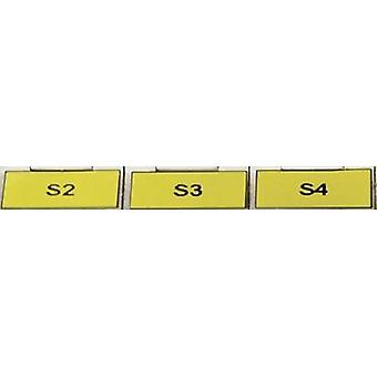 Cable identifier Helatag 20 x 8 mm ATT.LOV.COLOR_LABELING-FIELD: Yellow HellermannTyton 594-11102 TAG121LA4-1102-YE No.