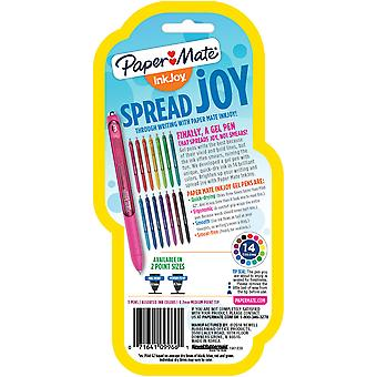 InkJoy Gel Pens .7mm 3/Pkg-Black, Blue, & Red 1951-639