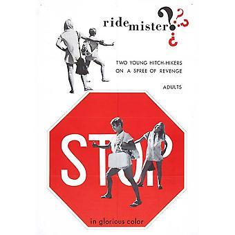 Постер фильма Мистер Ride (11 x 17)