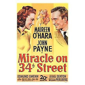 Miracle on 34Th Street Movie Poster (11 x 17)