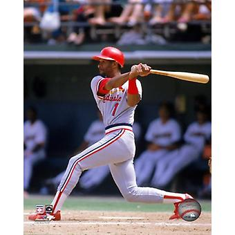 Ozzie Smith 1989 azione Photo Print