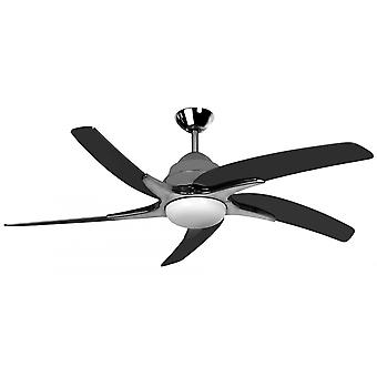 Ceiling fan Viper Plus Pewter with lighting 112 cm / 44
