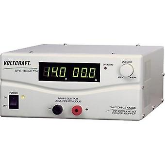 VOLTCRAFT SPS-9400 600W 1 Output Variable DC Power Supply With PFC, Switched Mode, Bench