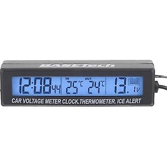 Thermometer Inside/outside temperature, Assembly kit, Ice alert, Sensor cable EC88 Basetech