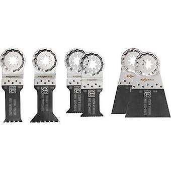 Plunge saw blade set 6-piece Fein Best of E-Cut 35222942050 Compatible with (multitool brand) Fein 1 Set